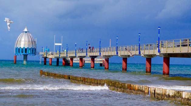 Bildergebnis für seebrücke zingst