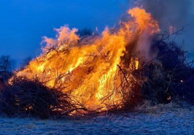 Strandfeuer in Kellenhusen